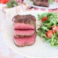 Rosemary Garlic Sous Vide Steak