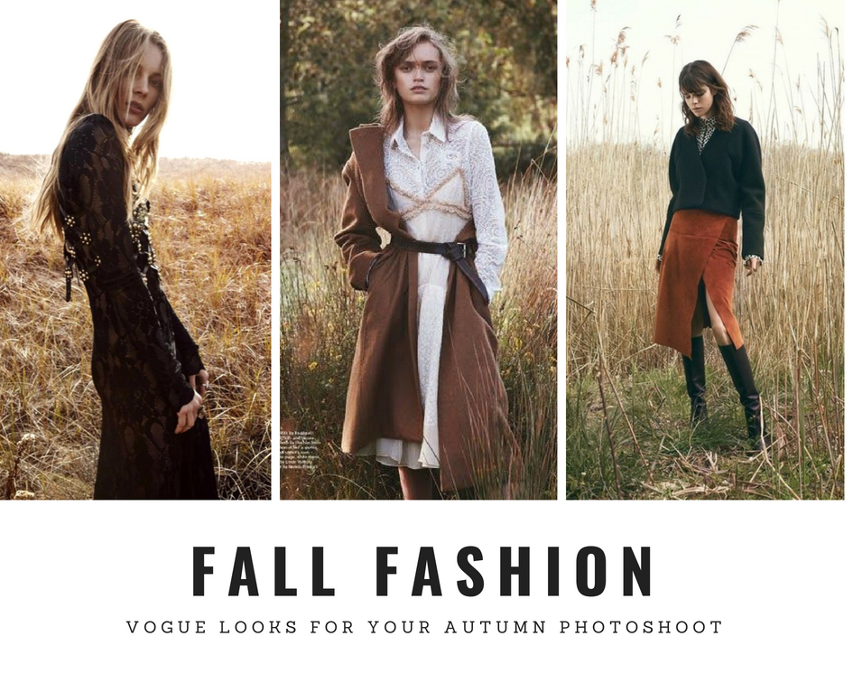 how to dress for your autumn photoshoot women