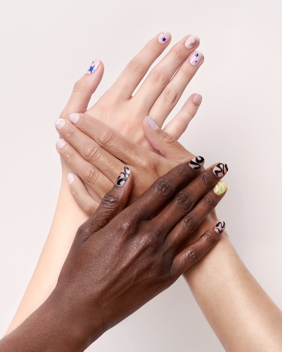 diversity manicure photography