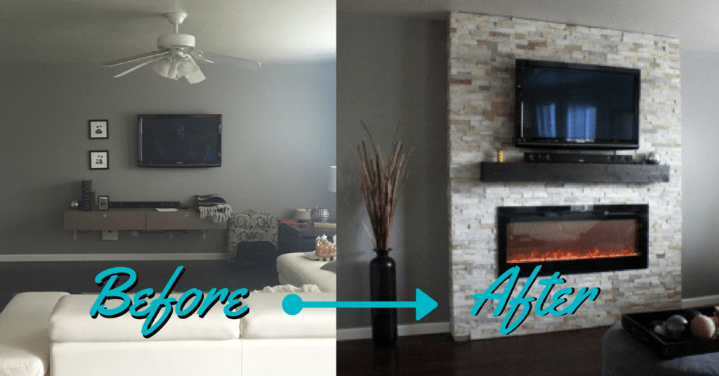 Fireplace Mount Tv Above Gas Fireplace Installing The Pictures Diy: How-to Build A Fireplace (in One Weekend) - Whitney