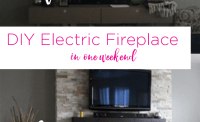 Diy Built In Electric Fireplace - Diy (Do It Your Self)