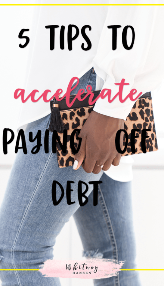 5 Tips To Paying Off Debt Quickly