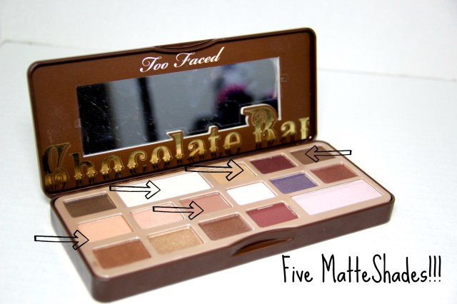 too faced matte shades