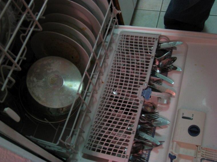 whirlpool dishwasher utensil tray