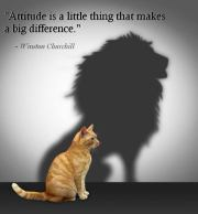 Your Attitude Is Everything; Control It!
