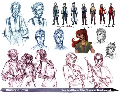 Hearts of Roese, Miscellaneous Character Designs