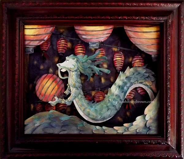 Chinese Dragon and Lanterns