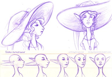 Concept Art Character Design The Art Of Whitney Brown