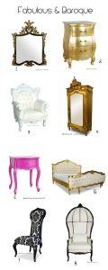 baroque home decor furnishings