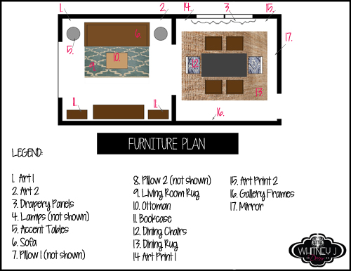 furniture plan for e decor package
