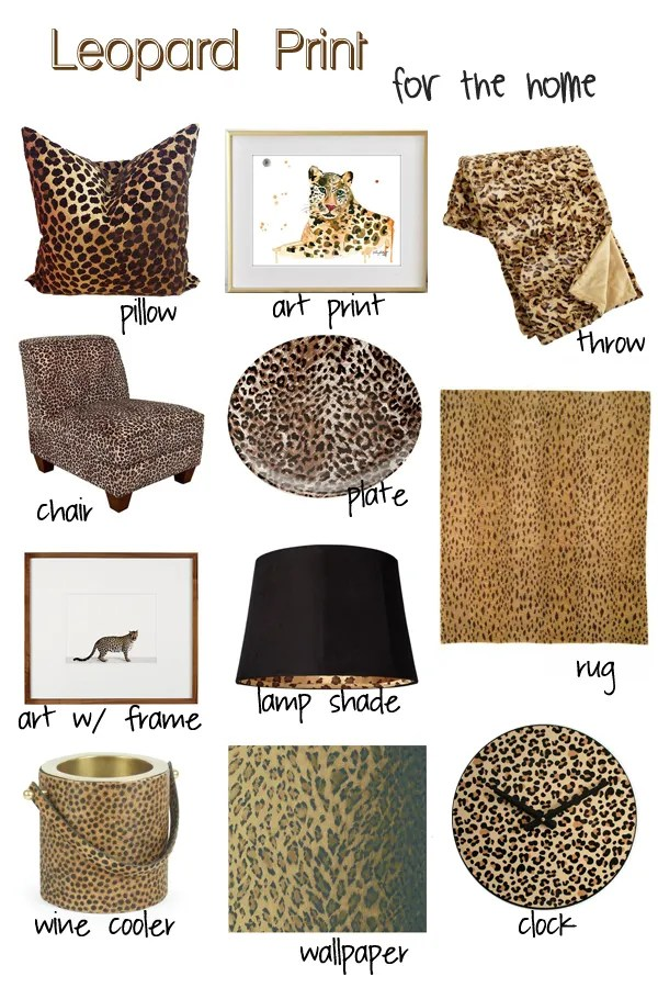 leopard pritn