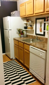Decorating a Small, Tiny Kitchen in a Small Apartment