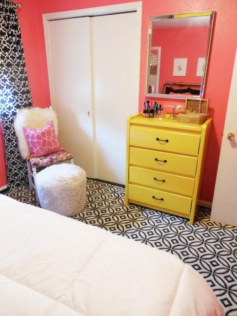 Pink Teen Bedroom