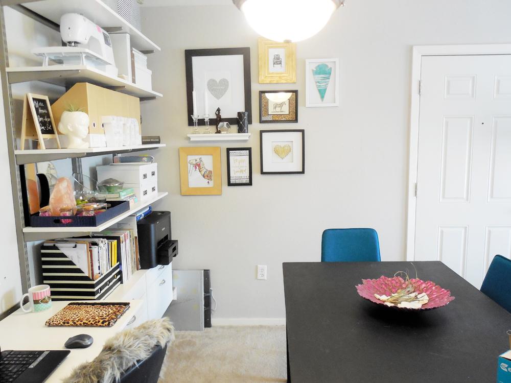small home office tour via Whitney J Decor
