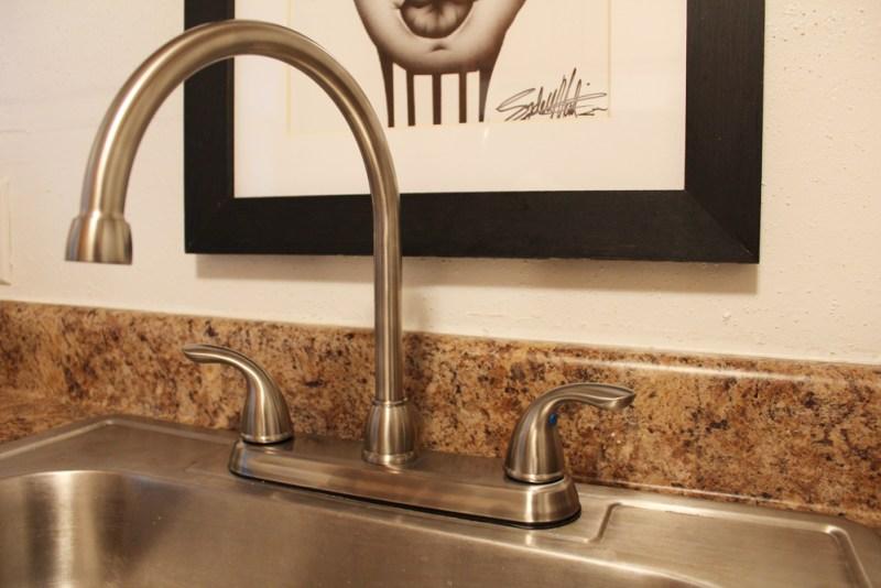 faucet in apartment