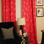 pink curtains that you don't like