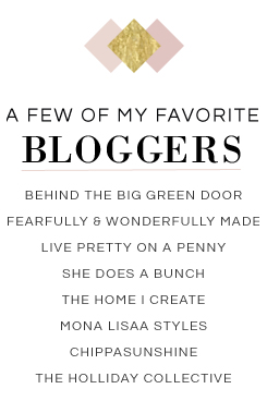 my favorite home decor bloggers
