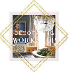 online decorating workshop | home decor | interior design | interior design classes