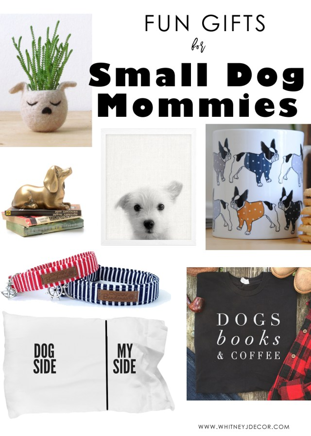 gift ideas for small dogs mommies | gift ideas for dog parents | gift ideas for dog lovers | #12daysofgiftguides | dog lovers gift guides | small dog lovers | small dog mommies gift ideas