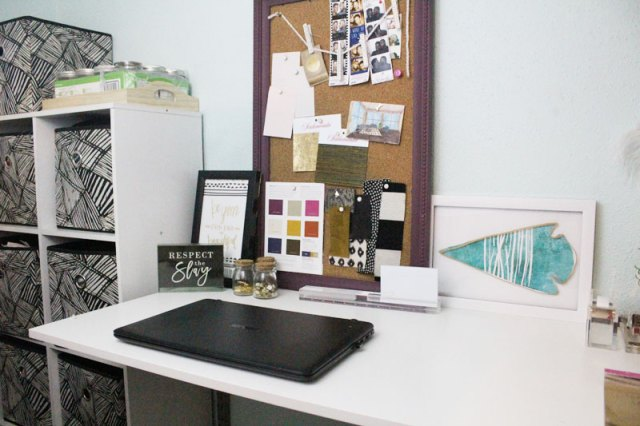 organizing a home office   home organization tips   office organization tips   home office decor