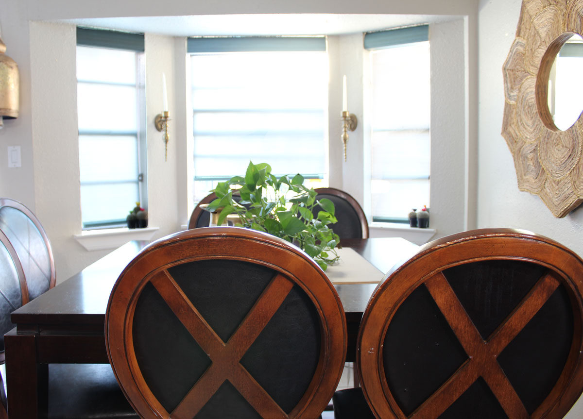 Roller Shades In A Kitchen With Blinds.com | Custom Window Treatments |  Custom Roller