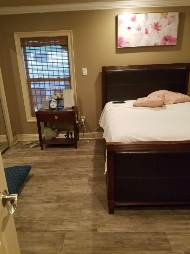 before photo   pink and gray bedroom   pink bedroom   pink master bedroom   nola decorator   new orleans interior design   new orleans decorator   nola interior designer   nola homes   new orleans homes  