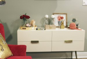 pink and gray bedroom | pink bedroom | pink master bedroom | nola decorator | new orleans interior design | new orleans decorator | nola interior designer | nola homes | new orleans homes | west elm hayworth dresser