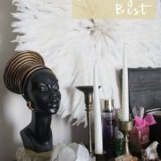 sunday's best | whitney j decor | thinks I'm obsessed with and project and plant updates | juju hat | bar top makeover | kitchen transformation