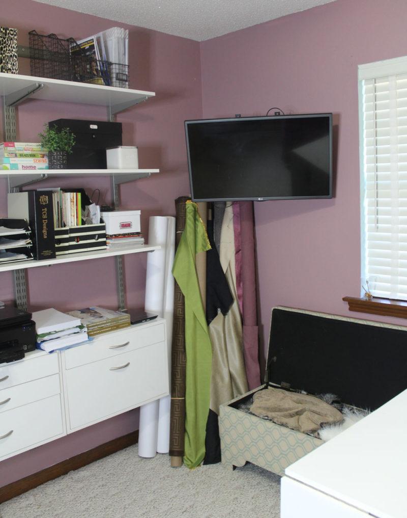 organizing a craft room #4daysoforganizing