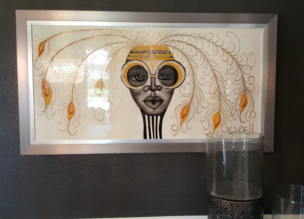black art on black walls