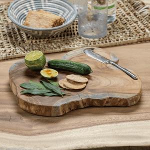 bali teak wood serving board