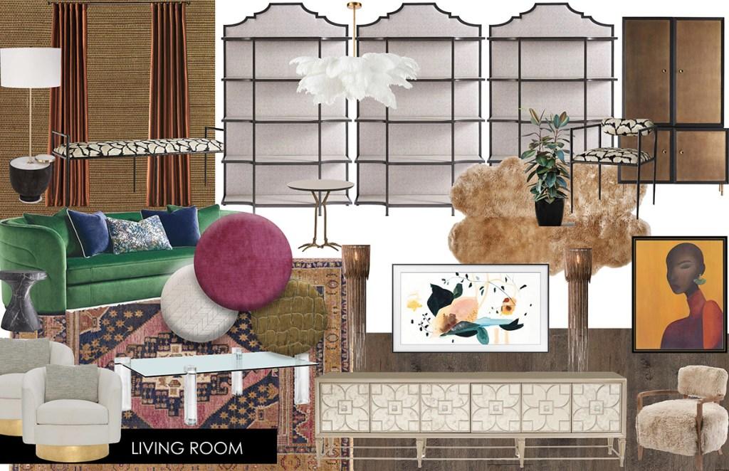 design plan for new orleans interior design project | new orleans interior designer