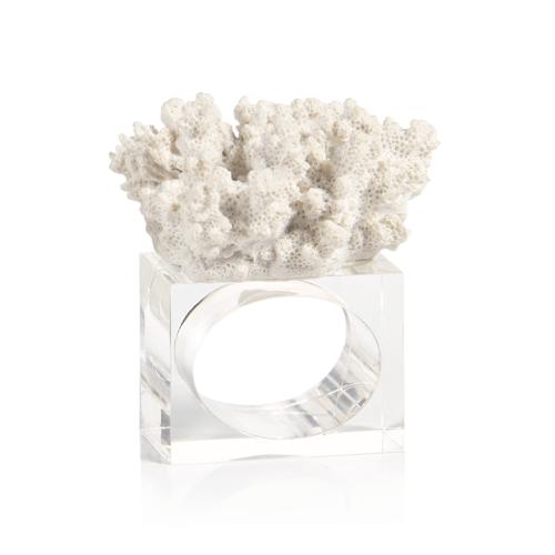 coral napkin ring - design a