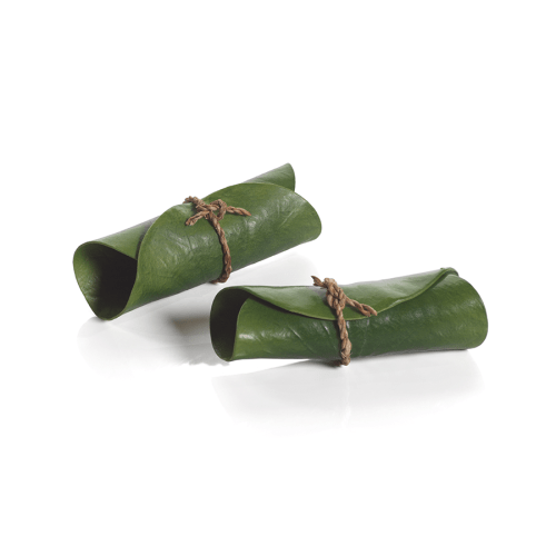eva lotus leaf napkin rings