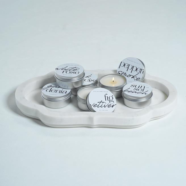 tin candle - sample size