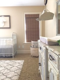 baby boys french country inspired nursery