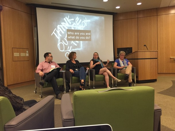 Photo from Plenary Panel at #dLRN15