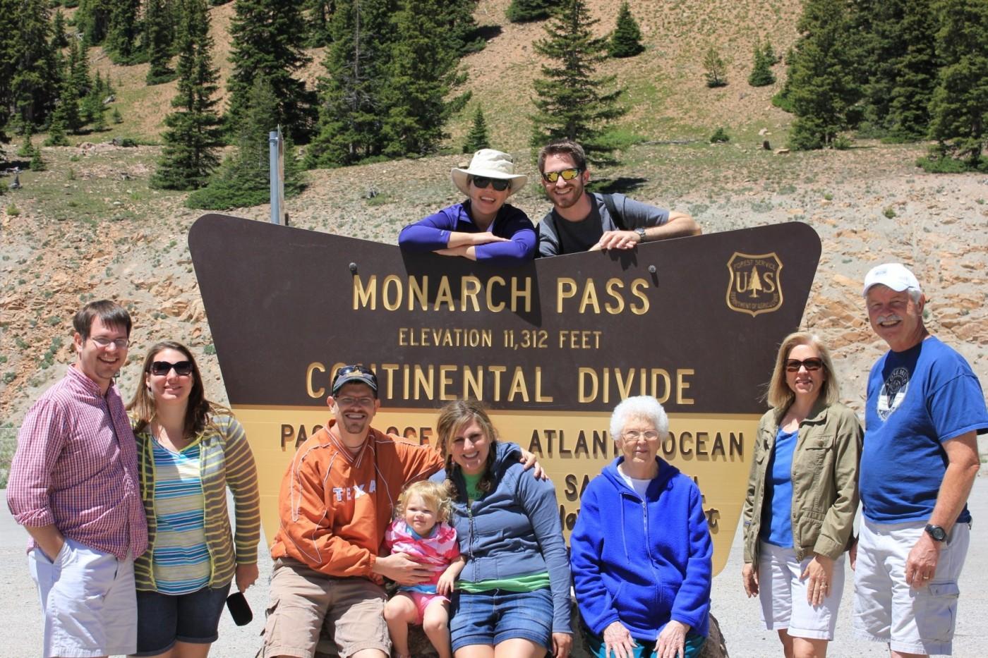 monarch pass, continental divide, whits wilderness, bill klenzendorf