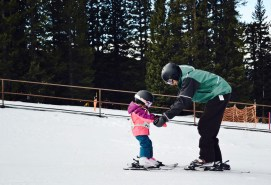 Ski Cooper's awesome instructors doing what they do best!