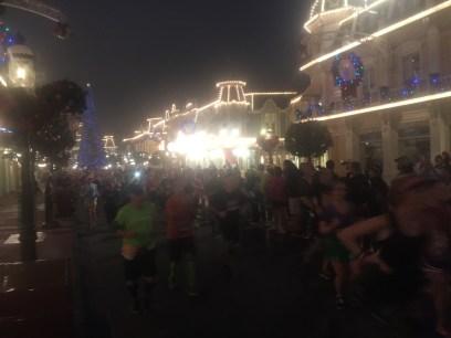 Blurry but Main Street USA
