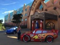 The Car's themed area