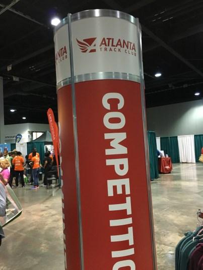 Atlanta Track Club Booth