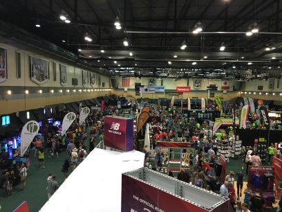 The expo from a bird's eye view