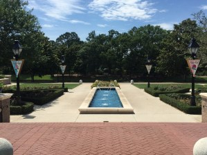 Princess courtyard