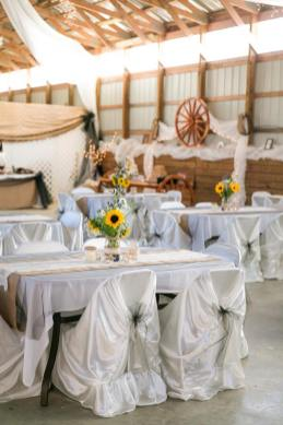 Alabama Farm Wedding Venue in Barn