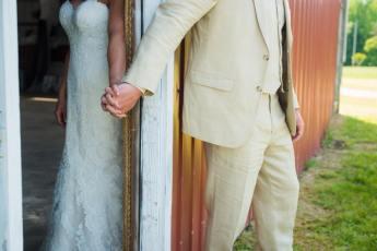 Rustic Wedding in Jasper, Alabama