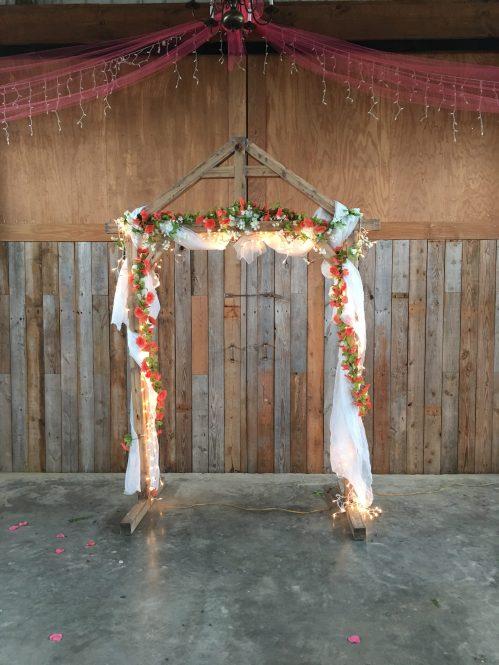 Rustic Wedding Arch