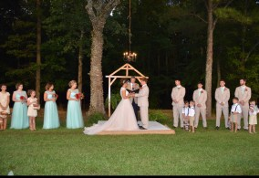 Outdoor Wedding on Farm