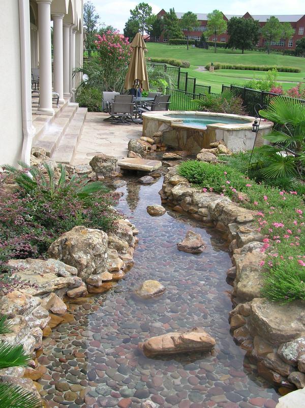 landscape river design &