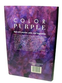 The Color Purple Book Back Cover | Coloring Pages